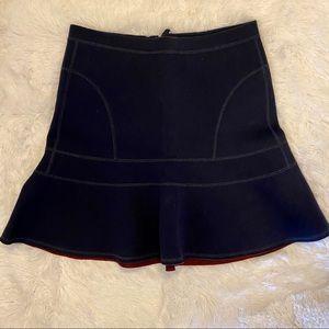 J. Crew Skirts - J. CREW Navy Flared Surf Skirt Medium EUC